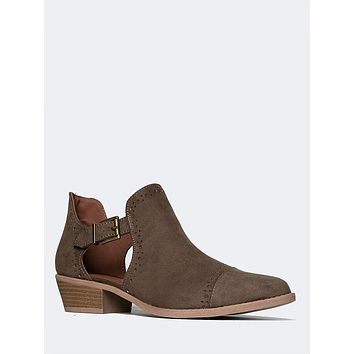Side Cut Out Bootie