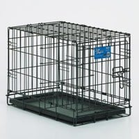 Precision ProValu Great Crate Single Door Dog Crate with FREE Pad | www.hayneedle.com