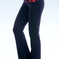 Miami Style® - Yoga Pant with Laced Folding Waistband
