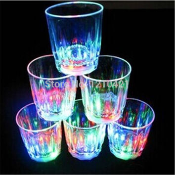 24pcs/lot New Small LED Shot Glasses
