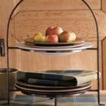 Two-Tier Serving Stand