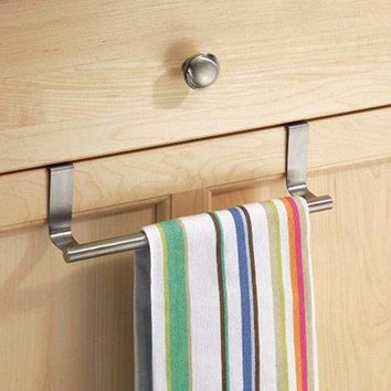 Multifunctional Towel Over Holder Kitchen Drawer Hook Bathroom Scarf Hanger Braw