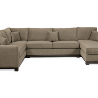 Hemming Sectional, Taupe, Sectionals