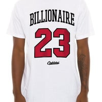 The Billionaire Tee in White