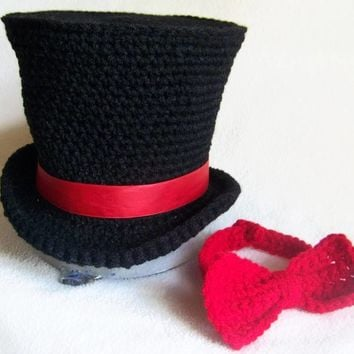 Baby Circus Outfit - Mad Hatter - Costume - Abraham Lincoln - Ringmaster - Baby Circus Hat - Circus Top Hat - Mad Hatter Costume - Tea Party