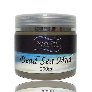Royal Sea Dead Sea clay Mud Mask Face and Body 100% Natural Israel Spa Mud 200g