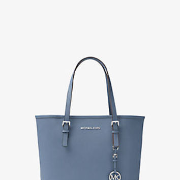 Jet Set Travel Small Saffiano Leather Tote | Michael Kors