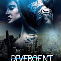 Kate Winslet - Divergent (2014) UV Movie Poster v9