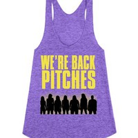 Pitch Perfect-Unisex Tri Orchid Tank