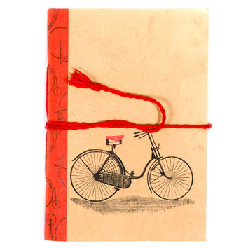 Vintage Journal - Bicycle