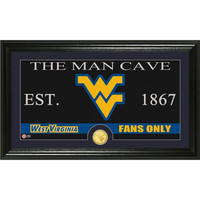 West Virginia University Man Cave Bronze Coin Panoramic Photo Mint