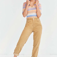 BDG Corduroy Mom Jean – Tan | Urban Outfitters