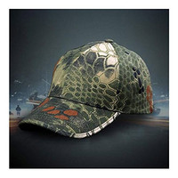 Men Camouflage Sport Army Baseball Cap Camping Hiking Hunting Hat Adjustable Olive A