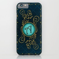 Letter A iPhone & iPod Case by Britta Glodde