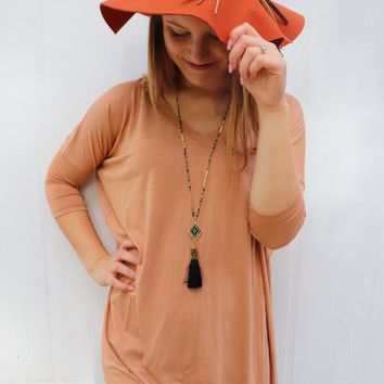 Iced Coffee Piko Tunic