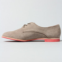 The Mini Shoe in Clay Suede