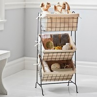 Wire Basket Etagere | Pottery Barn Kids