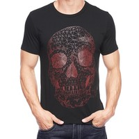 True Religion Skull Mens T-shirt - Black