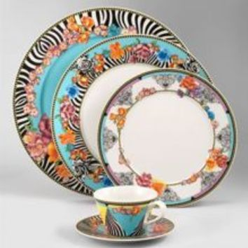 Dinnerware Depot - Dinnerware Sets, Fine China, Dishes, Tableware for Sale - Versace Hot Flowers Dinnerware - RETIRED