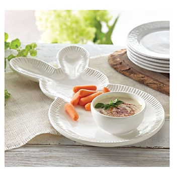 Easter Bunny Chip and Dip Set