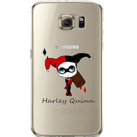 Harley Quinn Jelly Clear Case for Samsung Galaxy S7 Edge
