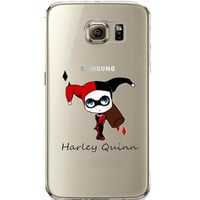 Harley Quinn Jelly Clear Case for Samsung Galaxy S6