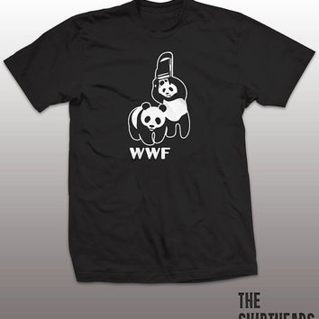 Wrestling Panda Shirt - world tshirt, mens womens gift, funny tee, instagram, tumblr, math, wrestle, geek fashion top, wildlife, cena, hulk