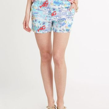 Edgartown Print Scene Shorts