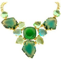 Kenneth Jay Lane Cluster Fancy Bib Necklace | Kenneth Jay Lane Accessories from Bag Borrow or Steal?