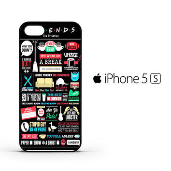 Friends TV Show F0791 iPhone 5 | 5S Case
