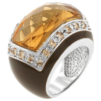 Persian Champagne Ring, size : 06