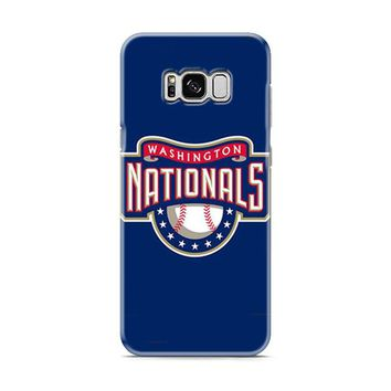 WASHINGTON NATIONAL BASEBALL LOGO BLUE Samsung Galaxy S8 | Galaxy S8 Plus case