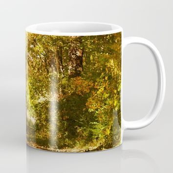 Woods Lake Trail Mug by Theresa Campbell D'August Art