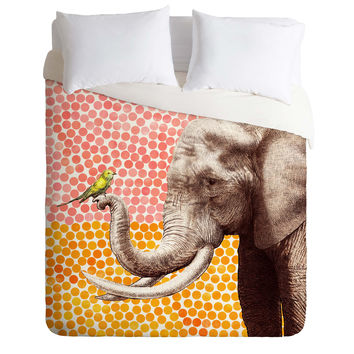 Garima Dhawan New Friends 2 Duvet Cover