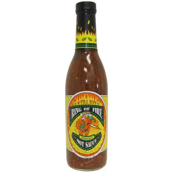 Ring of Fire Xtra Hot Habanero Hot Sauce
