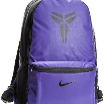 NIKE Unisex MAX AIR KOBE Basketball Backpack Bookbag Purple-Black (BA4414-051)