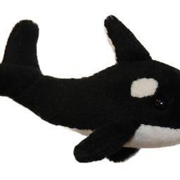 """Orca """"Kller"""" Whale Magnet - 2-inches (H) x 3.5-inches (L) x 2-inches (W)"""