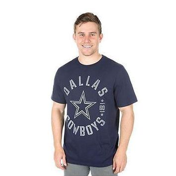 Dallas Cowboys T-Shirt Men's Brigade DCM NFL Navy