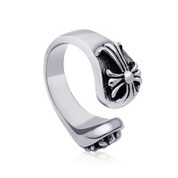 Shiny New Arrival Gift Jewelry Vintage Cross Titanium Stylish Accessory Ring [6544881347]