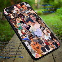 Collage art,Harry Styles,One Direction,1D,iphone6 6plus,the 1975 case/cover for iPhone 4/4s/5/5c/6/6+/6s/6s+ Samsung Galaxy S4/S5/S6/Edge/Edge+ NOTE 3/4/5 #music #1d ii