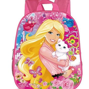 13 Inch Cartoon Marie Cat Princess Kids Backpack Kindergarten School Bag Children Printing Backpack Girls Boys Mochila