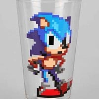 Sonic Pint Glass- Black One