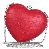 Handbag of the Week: Heart box clutch from River Island