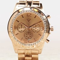 AEO Women's Rose Gold Watch (Rose)
