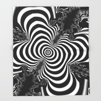 Hypnotizing Throw Blanket by Christy Leigh | Society6
