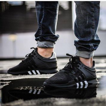 PEAPGE2 Beauty Ticks Adidas Eqt Support Adv Trainers Shoes Equipment Nmd Y3 Black White 7