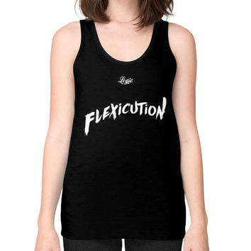 Flexicution Logic Unisex Fine Jersey Tank (on woman) Shirt
