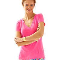 Michele V-Neck Top - Lilly Pulitzer