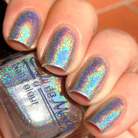 Nail polish  Inevitable chrome silver linear by EmilydeMolly