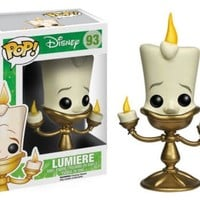 Funko Pop Disney Beauty and the Beast: Lumiere 93 3896